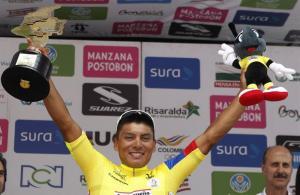 Ecuatoriano Jonathan Caicedo, quinto extranjero que gana la Vuelta a Colombia