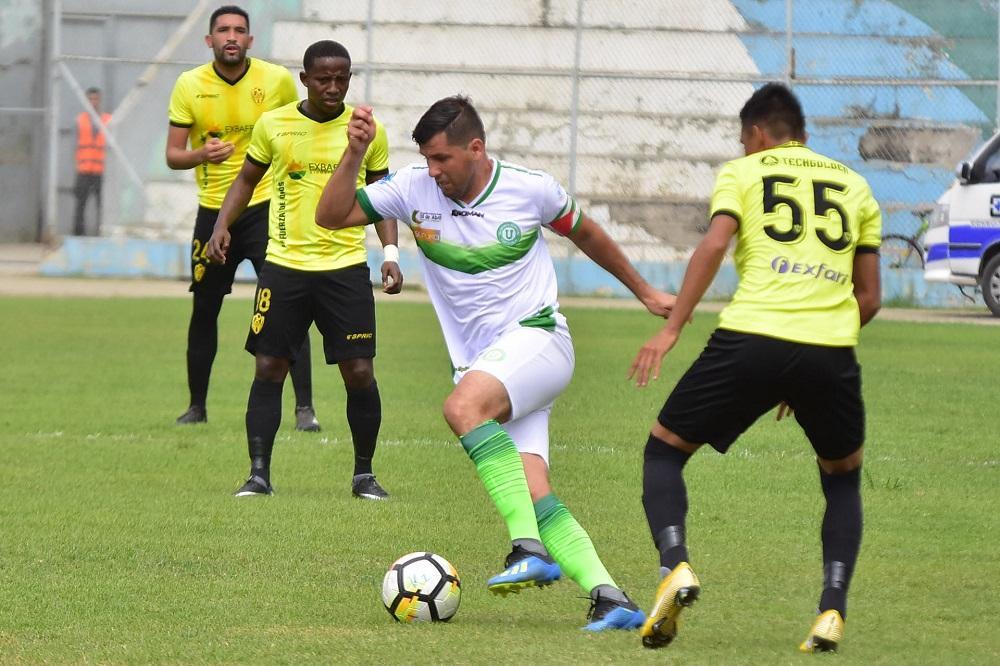 Liga de Portoviejo empata en su visita a Fuerza Amarilla