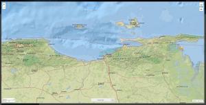 Un terremoto sacudió esta tarde al noreste de Venezuela