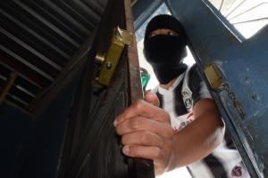 Ladrones 'pelaron'  dos haciendas