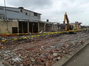 Antiguo mercado fue demolido