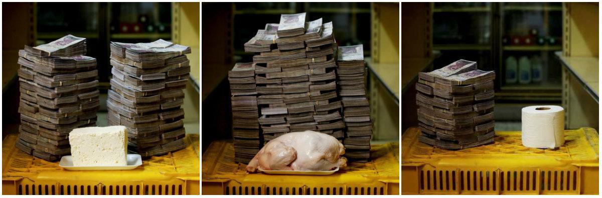 Los nueve dólares extras que mantienen a los venezolanos en la miseria