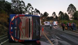 Un accidente de tránsito en la provincia de Loja deja más de diez heridos
