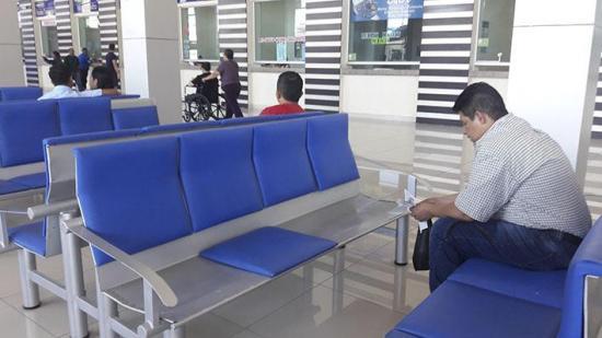 El terminal terrestre de Manta ha sufrido daños en 9 meses