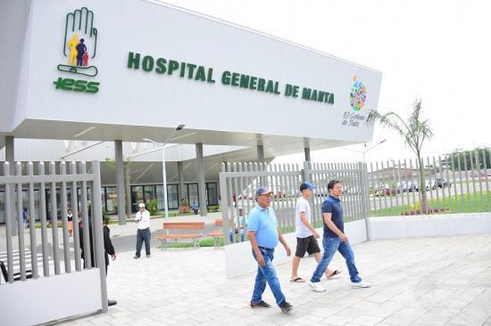 Realizarán simulacro en Hospital del IESS de Manta