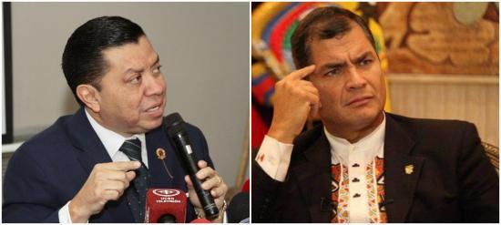 Rafael Correa no acudirá a audiencia de juicio en su contra en el país