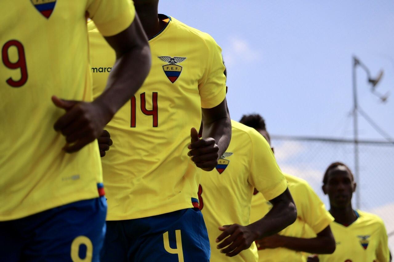 Ecuador Sub'20 recibirá en amistosos a Perú con miras al Sudamericano de 2019
