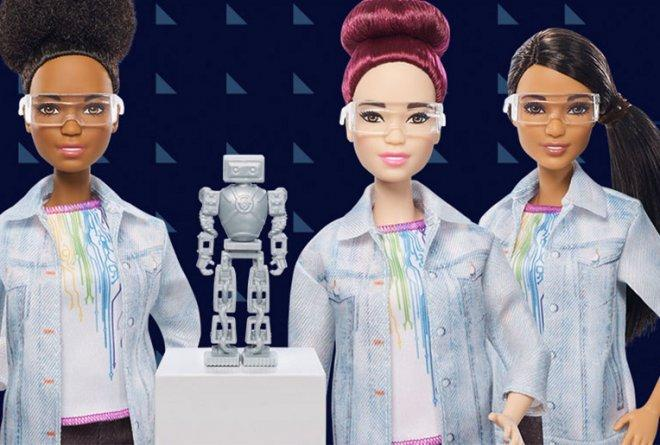 Mattel lanza su nueva muñeca, la Barbie Ingeniera Robótica