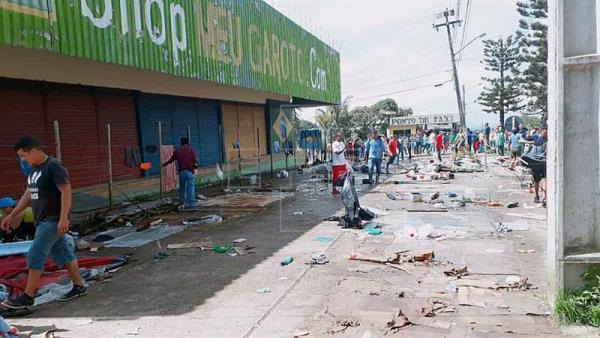 Linchan a un inmigrante venezolano acusado de haber asesinado a un brasileño