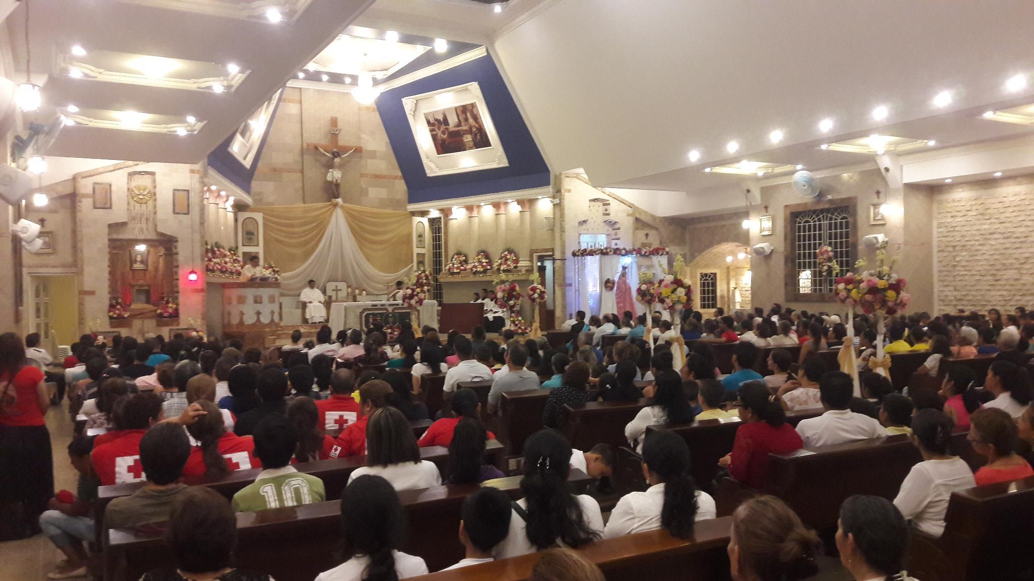 Fiesta de fe  con misa y baile