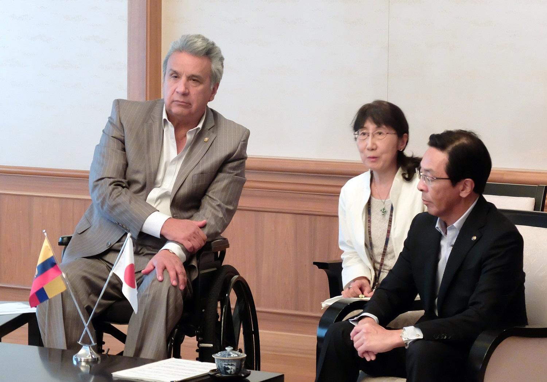 Se analizan inversiones con Banco de Japón tras visita de Moreno a ese país