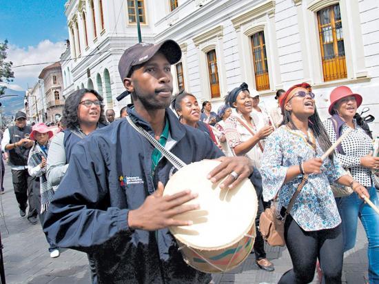 Los derechos unen a indígenas y afrochoteños