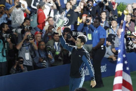 Djokovic vence a del Potro y se proclama campeón del USA Open