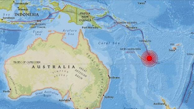 Un sismo de magnitud 6,1 sacude Nueva Caledonia, en el Pacífico Sur