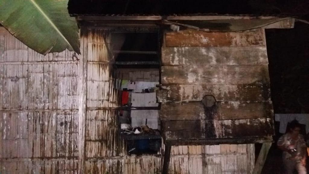 Conato de incendiocausa susto en barrio