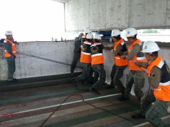 Levantarán seis centímetros el puente 'Los Caras' por mantenimiento