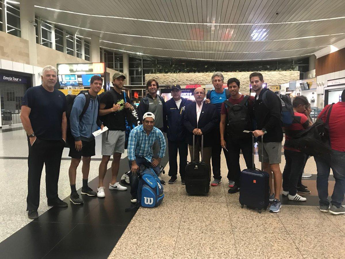Equipo de Ecuador de la Davis va a Barbados en busca de seguir en el Grupo 1 Zona América