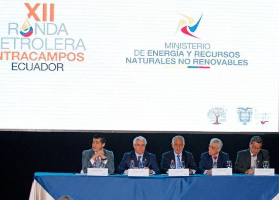 Ecuador busca inversiones por 1.000 millones con ronda petrolera Intracampos