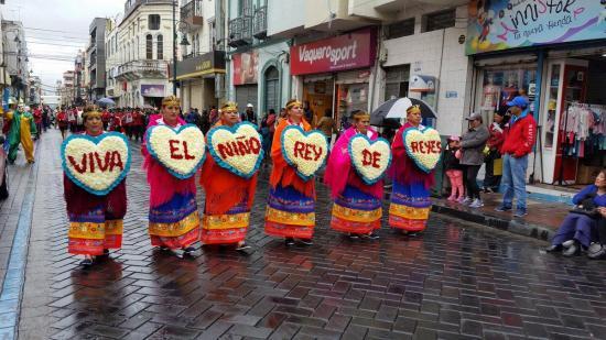 ''Pase del Niño de Riobamba'' es certificado como patrimonio cultural del Ecuador