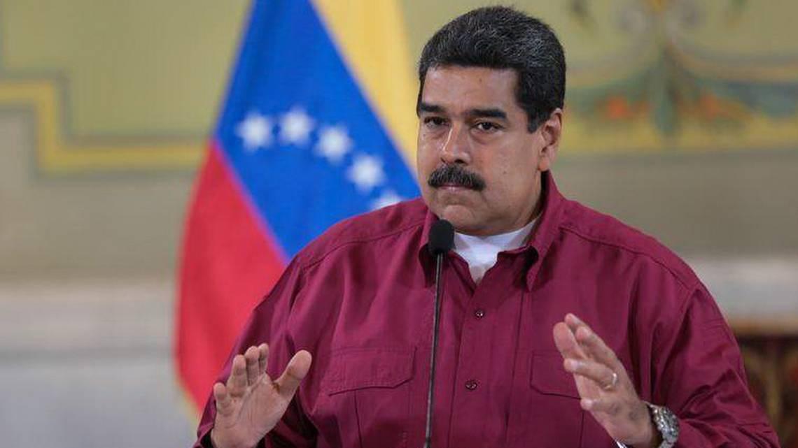 Maduro dice que ''campaña'' contra Venezuela busca justificar un golpe de Estado
