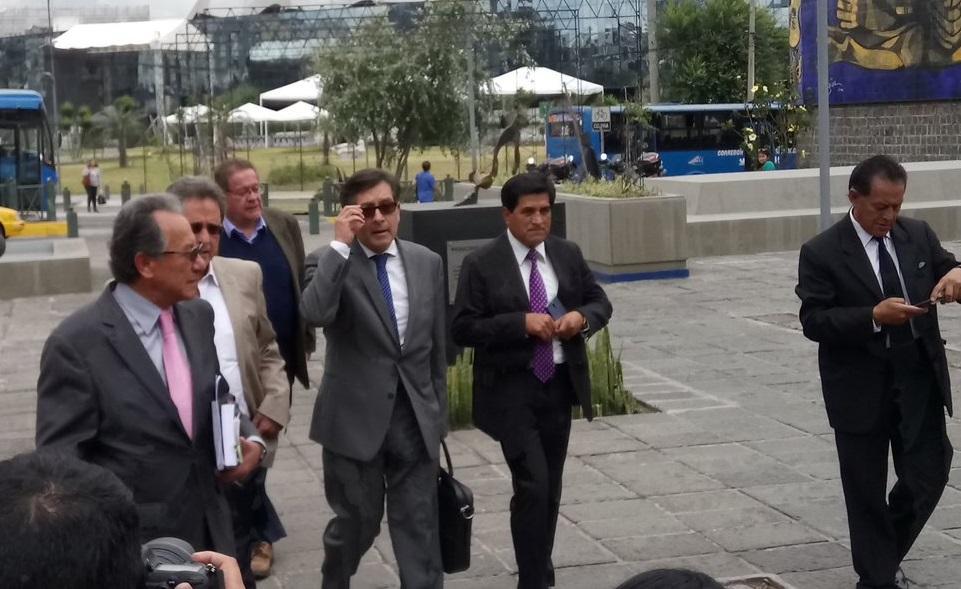 El exlegislador César Montúfar comparece en una nueva investigación contra Correa