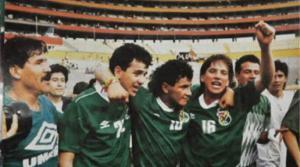 La selección boliviana que llegó al Mundial de 1994 homenajeará a su hinchada