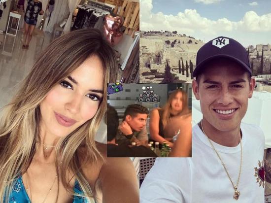 ¿Nació el amor entre  James Rodríguez y  Shannon de Lima?