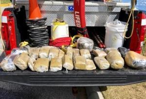 Paquetes de droga salieron a flote tras el paso del huracán Florence en Estados Unidos