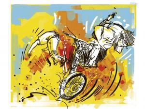 Un muerto y un herido dejó accidente de moto en Portoviejo