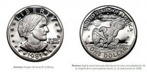 La moneda plateada de un dólar que circula en el país, no es tan nueva y te puede confundir
