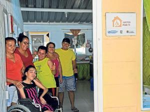 La entrega de su casa les cambió la vida