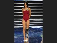 Bordi, la italiana con pierna una biónica que desafió los cánones de belleza