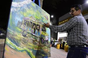 Inauguran la zona regenerada del centro de  Portoviejo