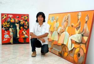 Quimbita, el ecuatoriano que pinta los sentimientos con luz