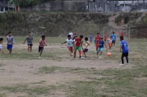 El fútbol es su alegría