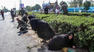 Un atentado terrorista causa 25 muertos durante un desfile militar en Irán