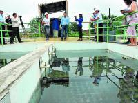 Aseguran que el agua potable es bien tratada