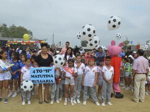 Más de 3 Mil Estudiantes en Cancha