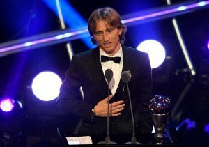 Luka Modric gana el Premio The Best al mejor jugador del mundo Marca