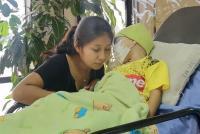 El niño boliviano al que extirparon los riñones por equivocación es trasladado a Brasil