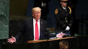 Trump genera risas en su discurso en la ONU