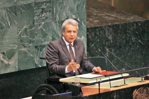 Lenín Moreno pide solidaridad con venezolanos y un diálogo franco sobre la crisis