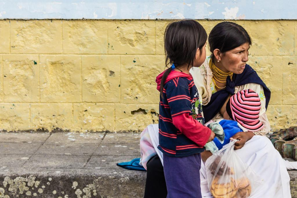 Uno de cada cuatro niños menores de cinco años tiene desnutrición en Ecuador