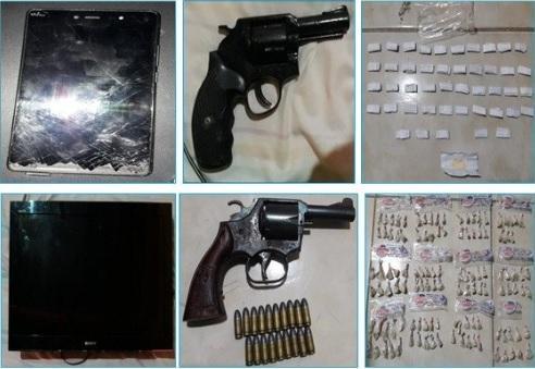 Policía desarticula a grupos dedicados al robo a personas y tráfico ilícito