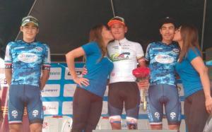 El colombiano George Tibaquirá gana segunda etapa de la Vuelta Ciclista a Ecuador