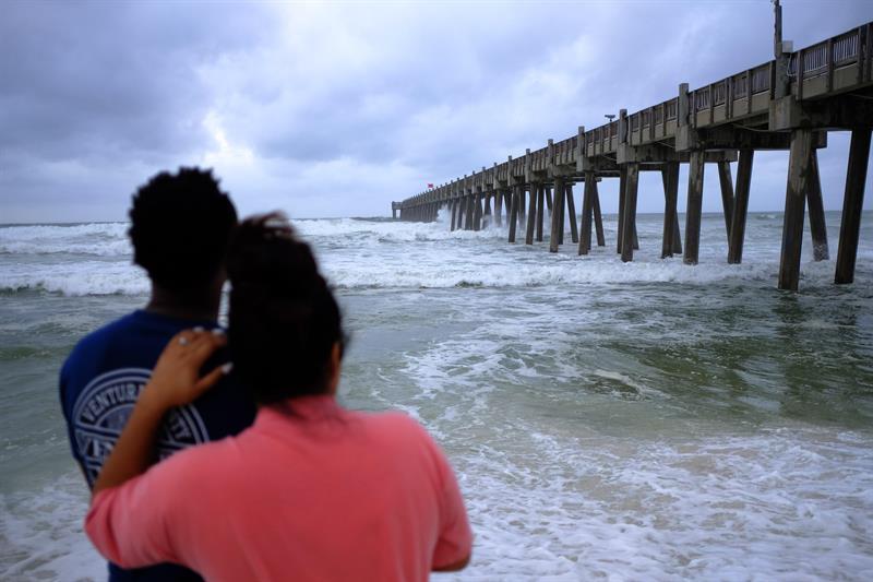 Michael se convierte en huracán de fuerza mayor horas antes de llegar a EEUU