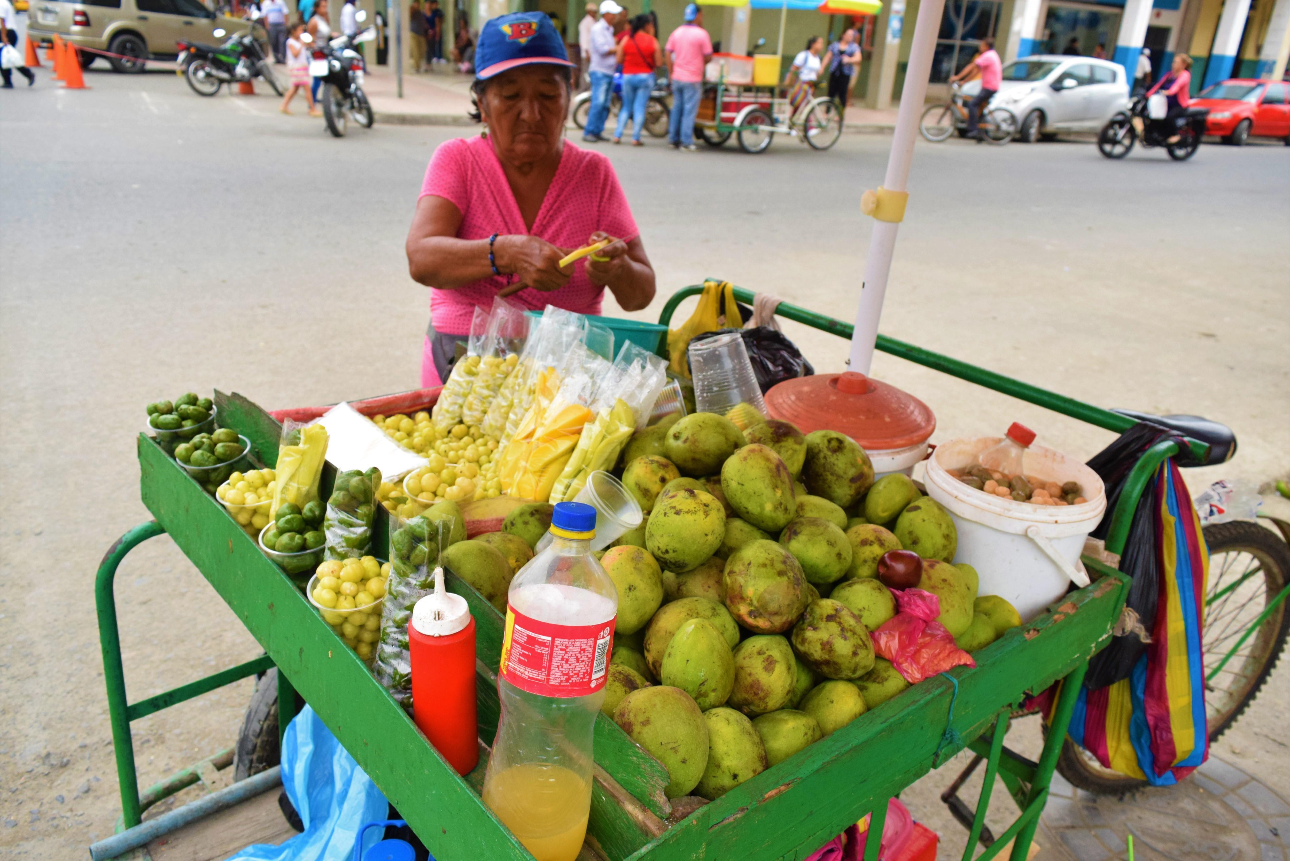 El mango se toma las calles
