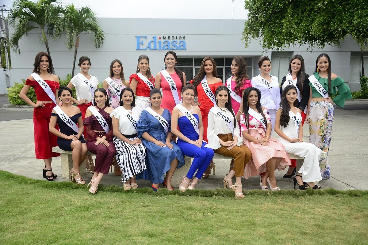 [VOTA POR TU FAVORITA] Conoce a las candidatas que aspiran ser la nueva Reina de Manabí