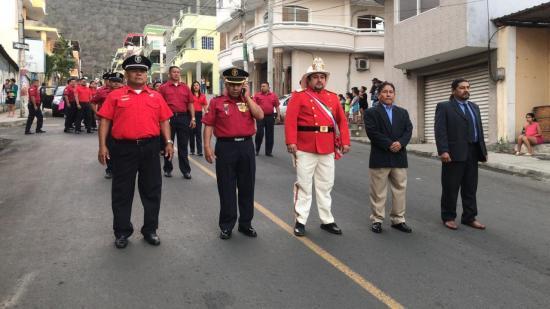 Bomberos de Montecristi celebran su día