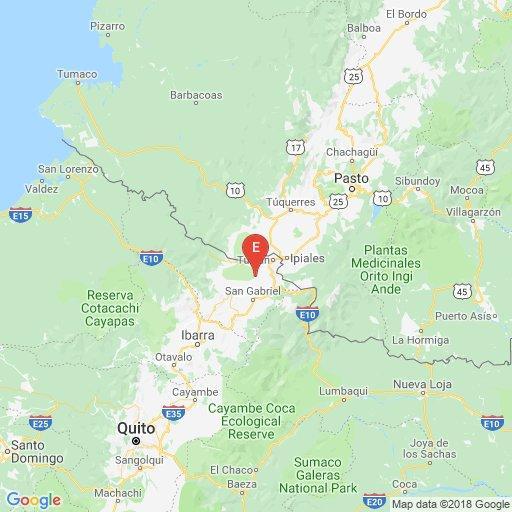 Un sismo de magnitud 3,2 se registró en la provincia del Carchi
